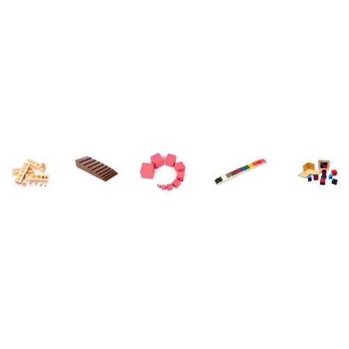 Mini Montessori Set 1 Smyslová výchova