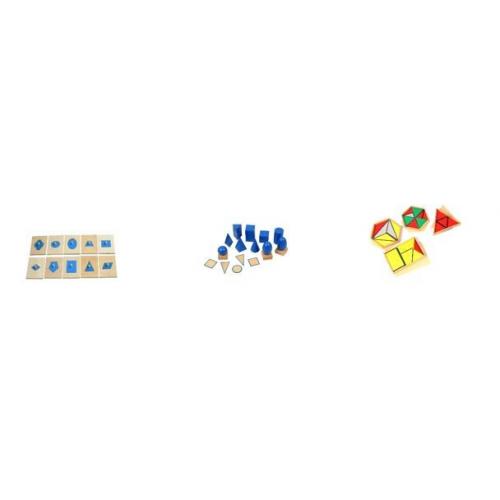 Mini Montessori Set 4 Geometrie