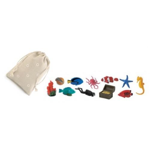 Korálový útes - Safari Ltd (balení v lněném pytlíku)
