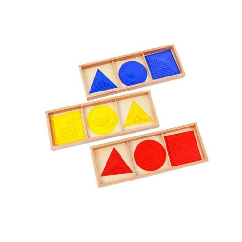 Kruhy, čtverce a trojúhelníky