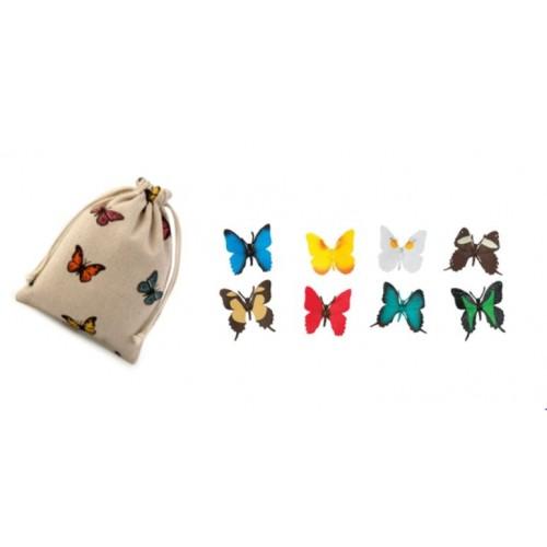 Motýli - Safari Ltd (balení v lněném pytlíku)