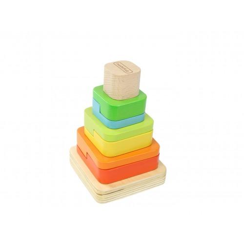 Dřevěná stavěcí pyramida