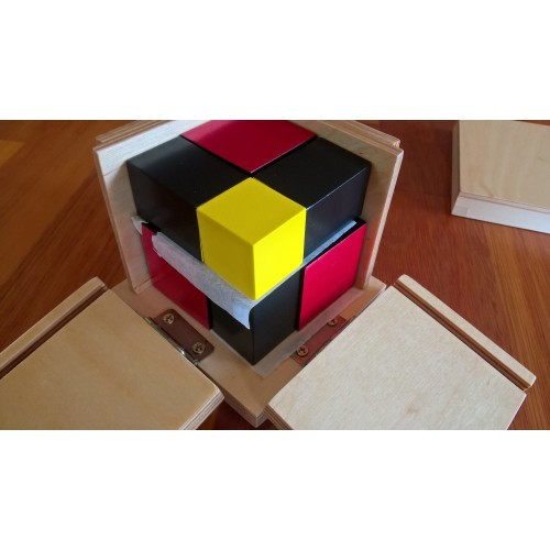 Mini Algebraická binomická krychle