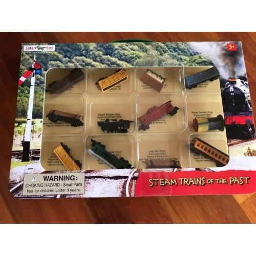 Parní vlaky - dárkové balení Safari Ltd