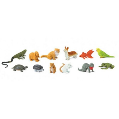 Domácí mazlíčci - Safari Ltd (balení v lněném pytlíku)