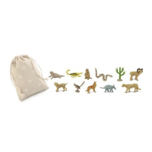 Život na poušti - Safari Ltd (balení v lněném pytlíku)