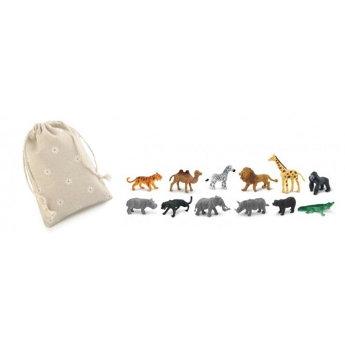 Safari - Safari Ltd (in Leinensäckchen verpackt)