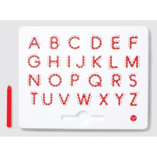 Magnetická tabuľka - Veľké tlačeným písmom