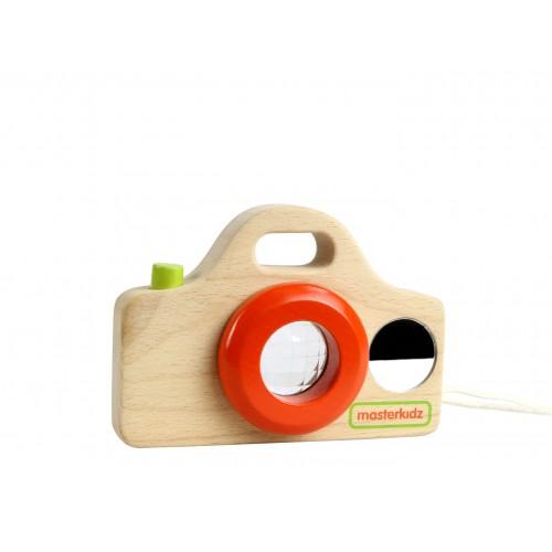Dřevěný fotoaparát