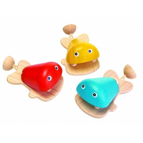 Fish castanets