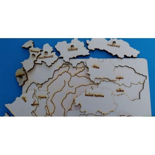 Mapa SR (3 vrstvy)