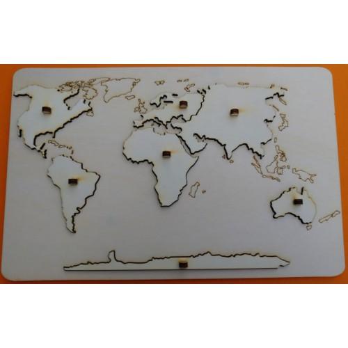Mapa svět