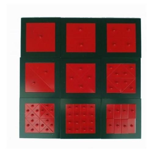 Kovové čtverce