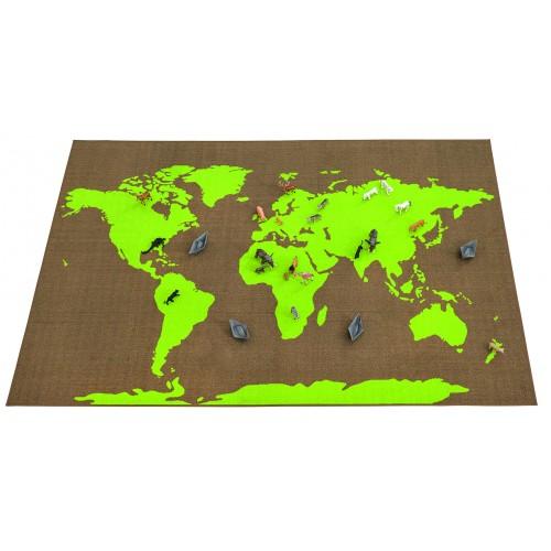 Koberec kontinenty