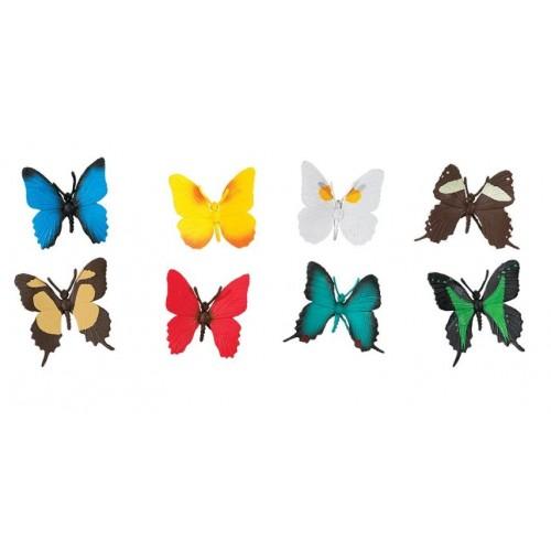 Schmetterlinge - Safari Ltd (in Leinensäckchen verpackt)