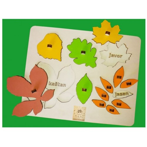 Puzzle listy SK