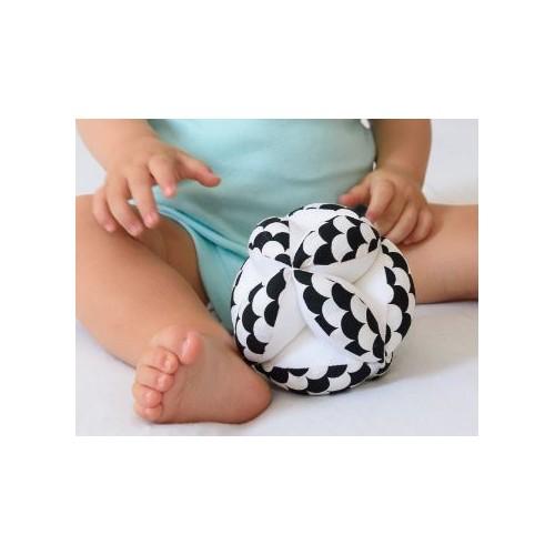 Montessori úchopový míček vlnky
