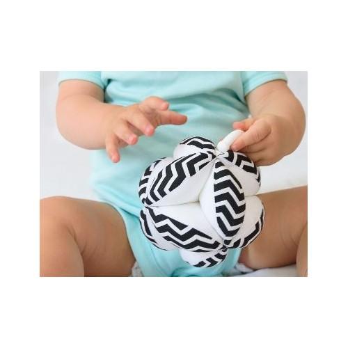 Montessori úchopový míček chevron