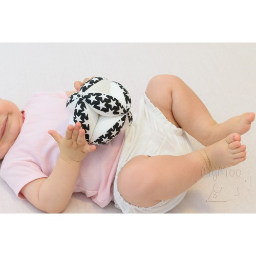 Montessori úchopový míček hvězdy