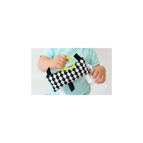 Montessori úchopový polštářek vlnky