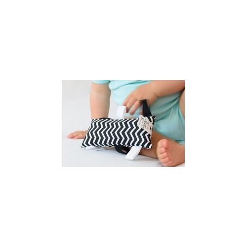 Montessori úchopový polštářek chevron