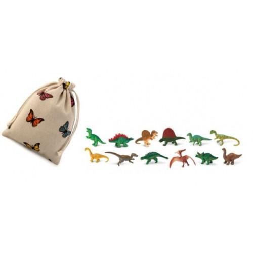 Dinosauři- Safari Ltd - (balení v lněném pytlíku)