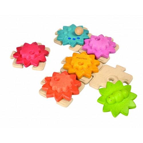 Ozubené kolesá a puzzle - štandard