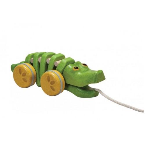 tancujúci krokodíl