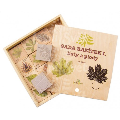 Leaves and Fruits - Set of stamps CZ
