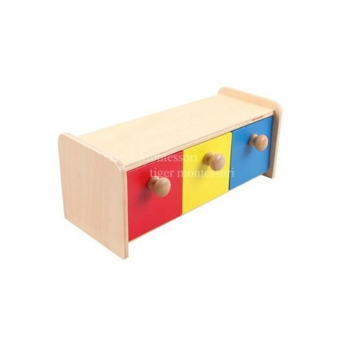 Krabička se třemi přihrádkami