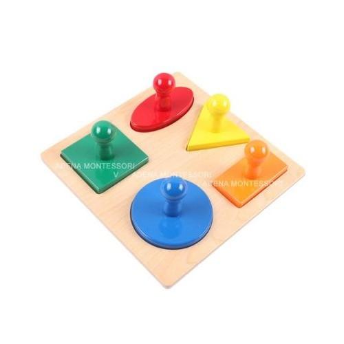 Puzzle 5 tvarů