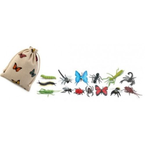 Hmyz - Safari Ltd (balení v lněném pytlíku)