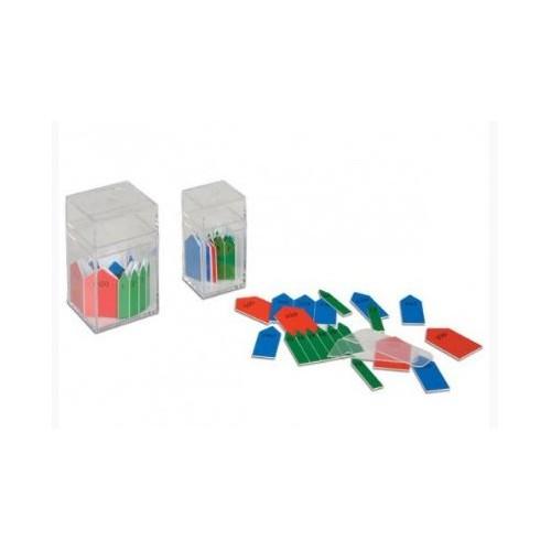Šipky k perlovému materiálu (stovkové a tisícové řetězy)