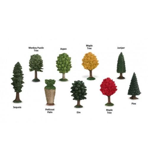 Stromy - Safari Ltd (balení v lněném pytlíku)