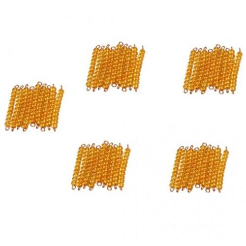 """45 Zlatých """"desítkových"""" tyčinek"""